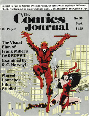 The Comics Journal, no. 58