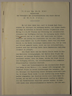 Magnus Hirschfeld Scrapbook: An die Gesetzgebenden Körperschaften des Deutschen Reiches