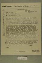 Telegram from Edward B. Lawson in Tel Aviv to Secretary of State, September 8, 1958