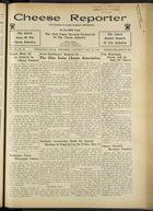 Cheese Reporter, Vol. 59, no. 38, Saturday, May 25, 1935