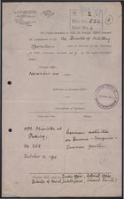 Copy of Letter from J. N. Jordan to Right Honourable Sir Edward Grey re: German Activity on Borders with Burma and Tonquin [Tonkin], October 18, 1915, forwarded from Foreign Office to Director of Military Operations, November 24, 1915