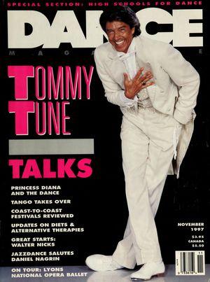 Dance Magazine, Vol. 71, no. 11, November, 1997