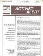 Activist Alert, March 1995