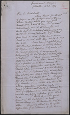 Letter from Sir John Lintorn Simmons to Sir Archibald Alison: 18 February 1879