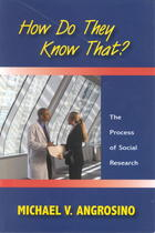 How Do They Know That?: The Process of Social Research