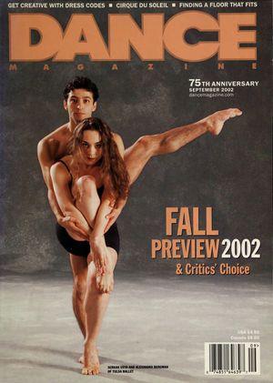 Dance Magazine, Vol. 76, no. 9, September, 2002
