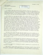 Letter from Charles K. O'Neill to Minister of Agriculture, Ecuador, re: Turning El Oro Technical Mission Over to Ecuador, November 8, 1943