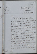 Copy of Letter from Lewis Joel to Dr. Gayleard re: Breach of Promise to Give Passage to Jamaicans, March 21, 1889