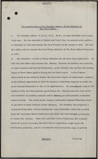 Personality Note on Sir Grantley Adams, Prime Minister of the West Indies, [undated]