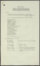 Clean Air Council - Mintues of the Ninth Meeting Held at Ministry of Housing and Local Government, Whitehall on Friday, 26th February 1960