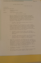 Memo from Donald K. Steinberg re: Draft Talking Points on Rwanda, May 17, 1994