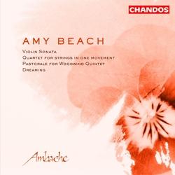 Amy Beach: Violin Sonata and other works Album Art