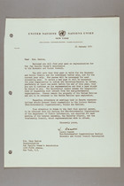 Letter from Laszlo Hamori to Mrs. Dana Backus, January 21, 1955
