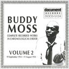 Buddy Moss: Complete Recorded Works in Chronological Order, Vol. 2