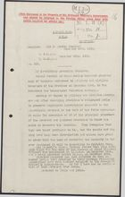 Decypher from Sir J. Jordan to United Kingdom Foreign Office re: Long Dissatisfaction of the People and Army, December 26, 1915