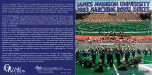 James Madison University 2003 Marching Royal Dukes