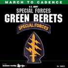 March to cadence: US Army special forces Green Berets