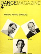 Dance Magazine, Vol. 35, no. 4, April, 1961