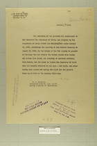 Letter from the Secretary of War to the Secretary of State, Oct. 23,1919