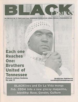 BLACKlines, Vol. 8 no. 12, January 2004