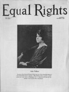 Equal Rights, Vol. 12, no. 34, October 03, 1925