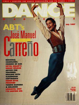 Dance Magazine, Vol. 71, no. 7, July, 1997