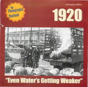 1920: Even Water's Getting Weaker