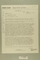 Telegram from William E. Cole, Jr. in Jerusalem to Secretary of State, February 23, 1956