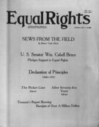 Equal Rights, Vol. 01, no. 01, February  17, 1923