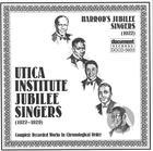 Harrod's Jubilee Singers (1922)  And Utica Institute Jubilee Singers (1927-1929)