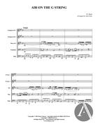 Air on the G String, BWV 1068, D Major