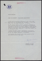 Correspondence re: International Military Services, October 27-30, 1978