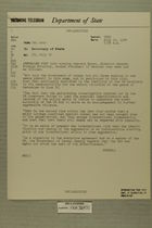 Telegram from Francis H. Russell in Tel Aviv to Secretary of State, July 18, 1954