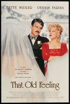 That Old Feeling (1997): Shooting script