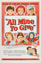 All Mine to Give (1957): Shooting script
