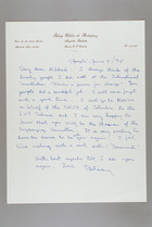 Letter from Betssy Wilches de Rodriguez to Mildred Persinger, June 4, 1975