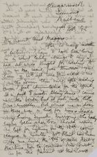 Letter from Jessie Love to Maggie Jack, November 17, 1892