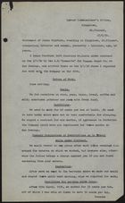 Statement of Isaac Fairburn to Labour Commissioner's Office, Kingstown, St. Vincent, June 27, 1939