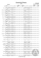 Carnival Of Venice, arranged for Solo Flute and Symphonic Band, Op. 78, F Major