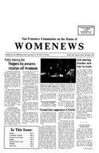 Womenews San Francisco, vol. 1 no. 3, December 1976