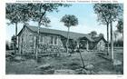 Postcard of Administration Building, United Spanish War Veterans, Colonization Project, Wilburton, Okla