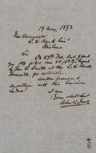 Letter from Robert Logan Jack to Queensland National Bank Manager, May 19, 1893