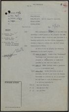 Draft of Letter from Colonial Office to D. G. Lee, J. M. Ross, and Miss W. M. Fox re: Amendments to Draft Report on Housing West Indian Immigrants, June 25, 1959