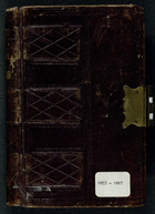 Account Book of William Lyall, 1853-1867