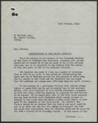 Letter from John T. Corbett to Frank Hollins re: Concentration of Soft Drinks Industry, October 13, 1942