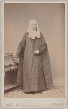 Carte de visite of A.I. Stephens Esq. QC