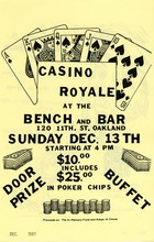 Casino Royale at the Bench and Bar