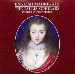 The Tallis Scholars: English Madrigals Album Art