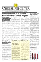 Cheese Reporter, Vol. 138, No. 23, Friday, November 29, 2013