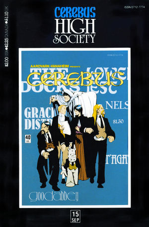 Cerebus: High Society, no. 15